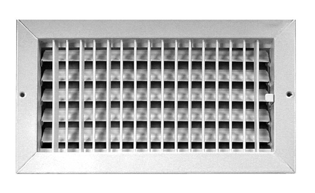 adjustable wall supply register