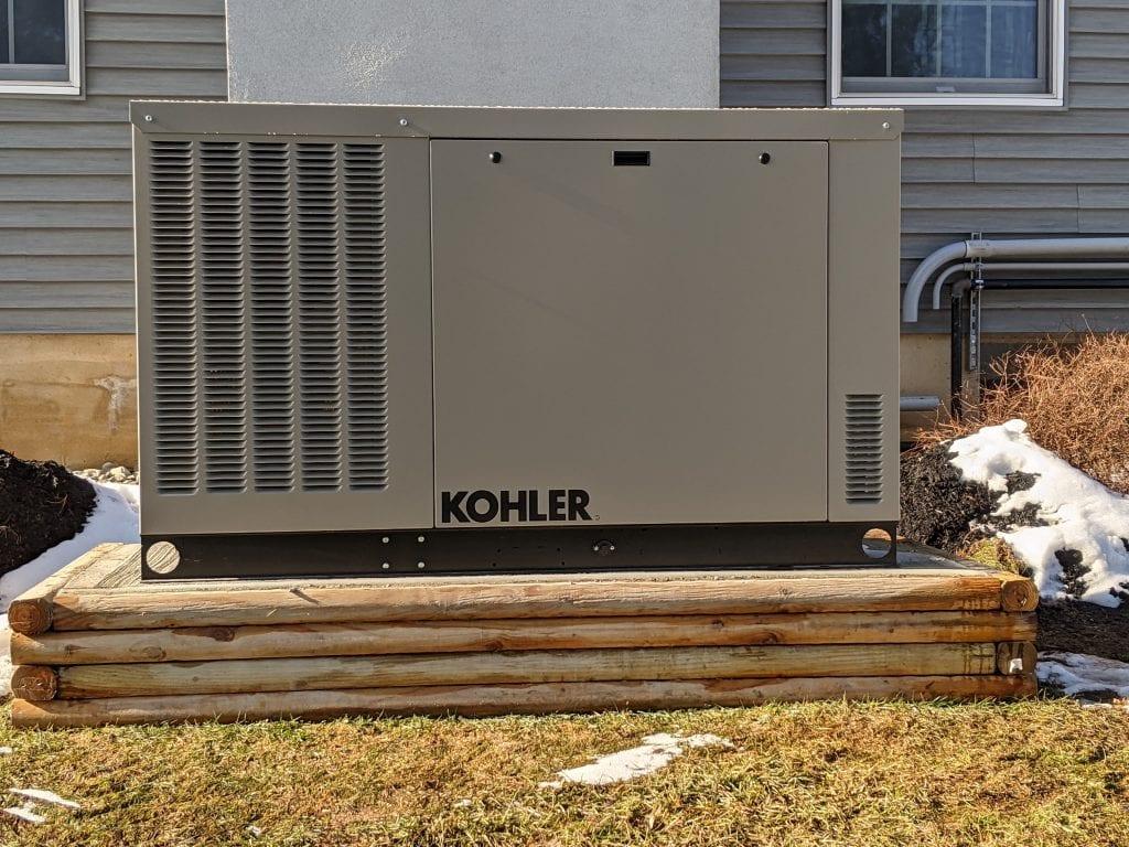 Installing a Kohler generator in Millstone, NJ