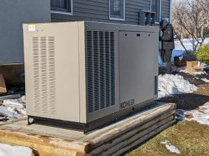 Get a Kohler residential generator from a contractor in Hamilton, NJ