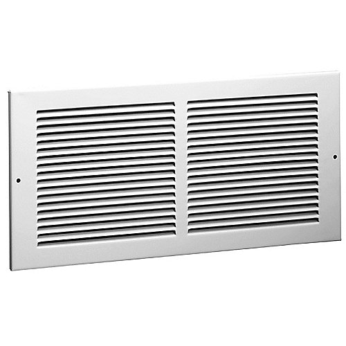 "Hart & Cooley - #650 Steel Return Air Grille with 1/3"" Fin Spacing"