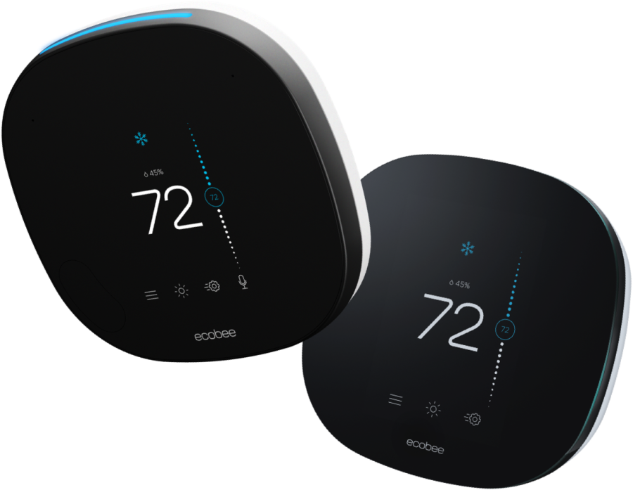 ecobee® Wi-Fi-enabled smart thermostats